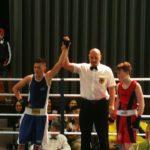 3 Marburger Boxer beim Länderkampf in Bad Wildungen